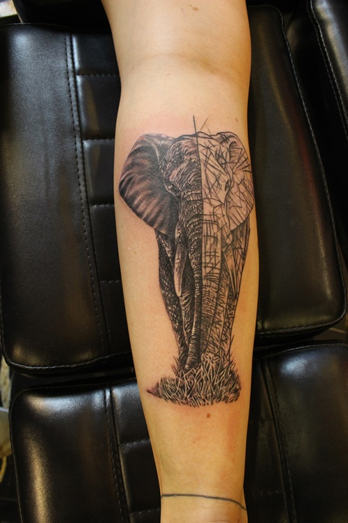 elephant-tattoo