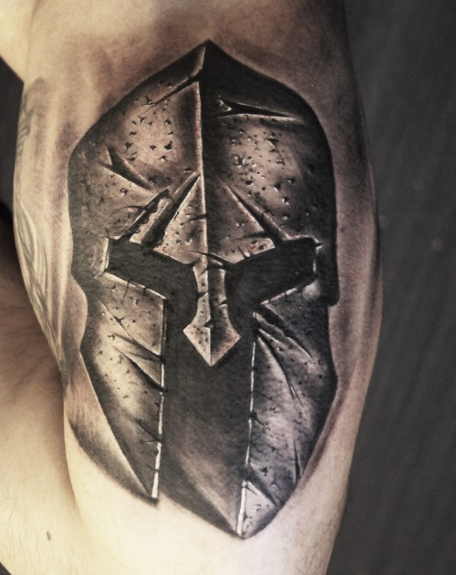 gladiator-mask-tattoo