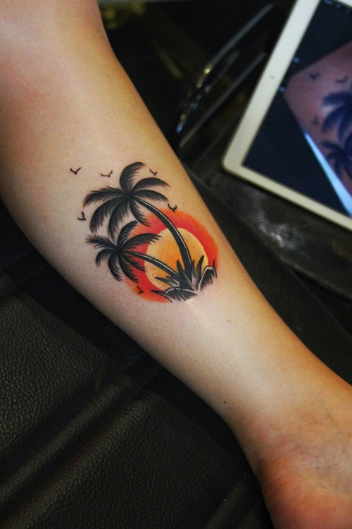 palm-tattoo
